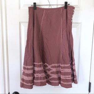 Burning torch skirt Sz. L?